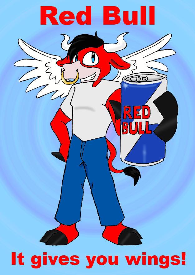 Red Bull by Shinigami-Ziggy