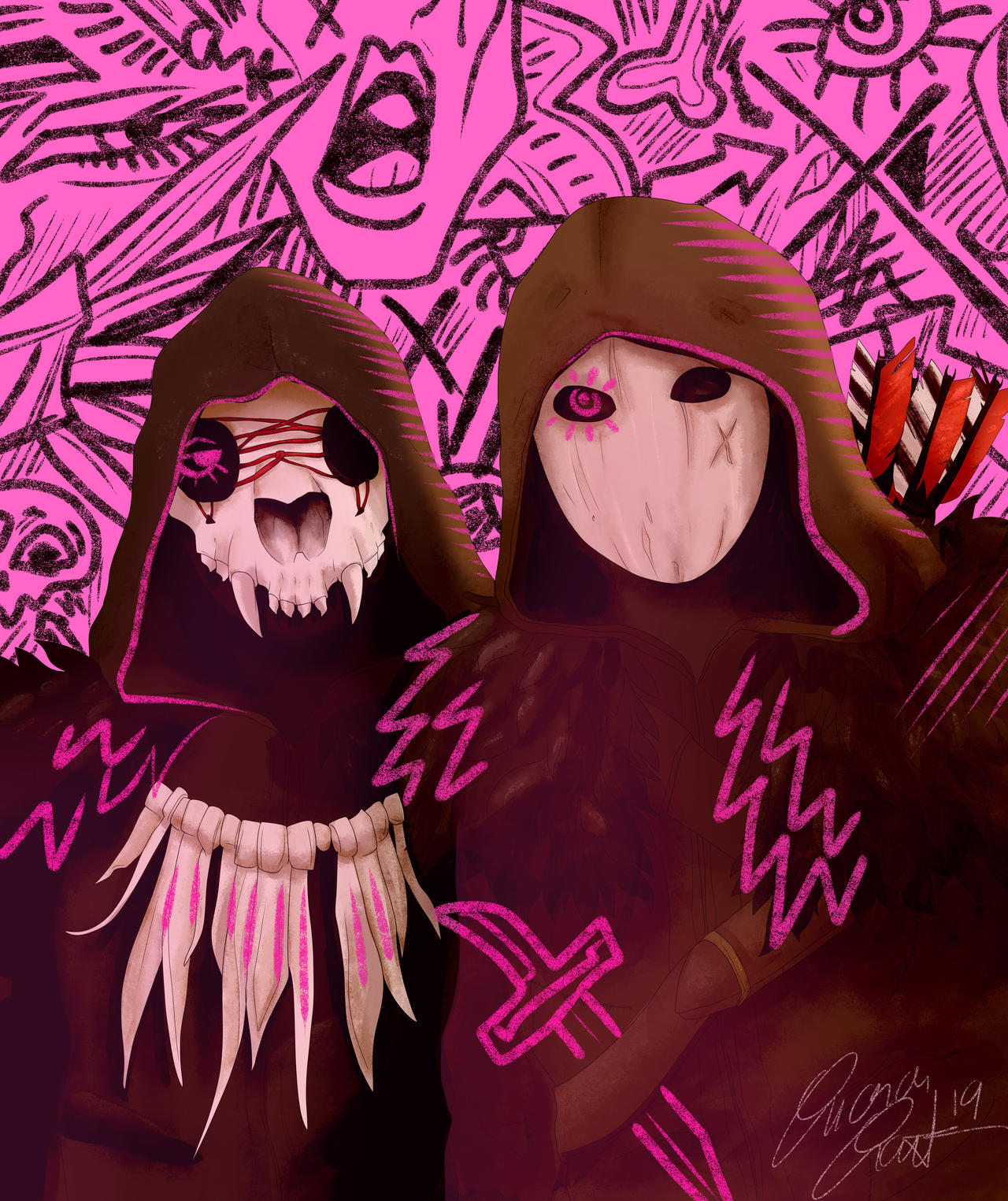Mask Buddies Highwaymen By Soroang On Deviantart
