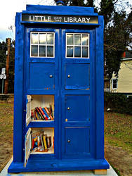 Tardis Library by Calypso1977