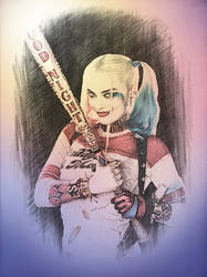 Harley Quinn-Suicide Squad by Calypso1977