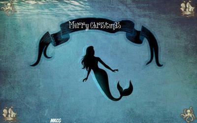 A Merry Mermaid Christmas by Calypso1977