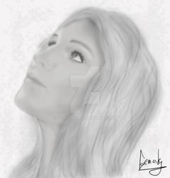 Britney Digital Portrait