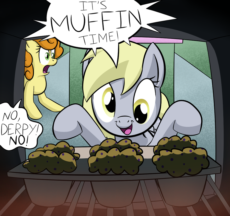 IT'S MUFFIN TIME by Lamiaaaa