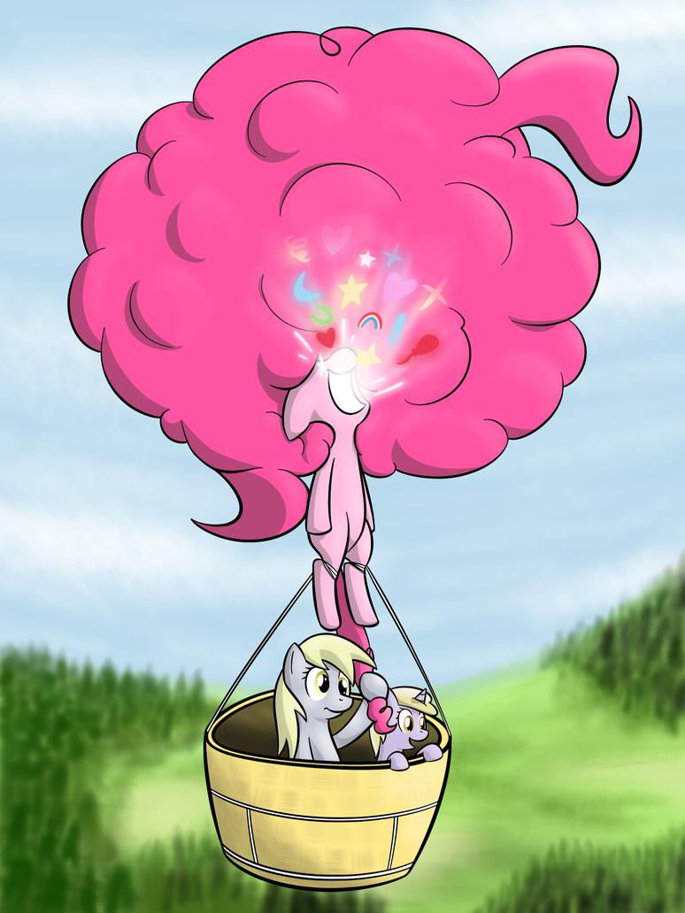 balloon joyride by Lamiaaaa