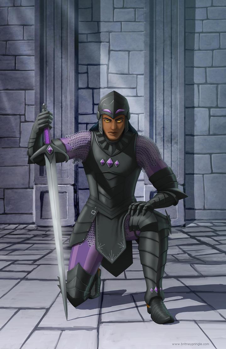 Blake the Dragon Knight by BritneyPringle