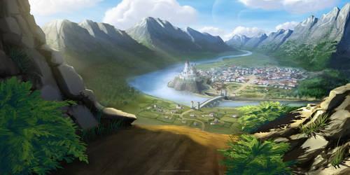 Fantasy City by BritneyPringle