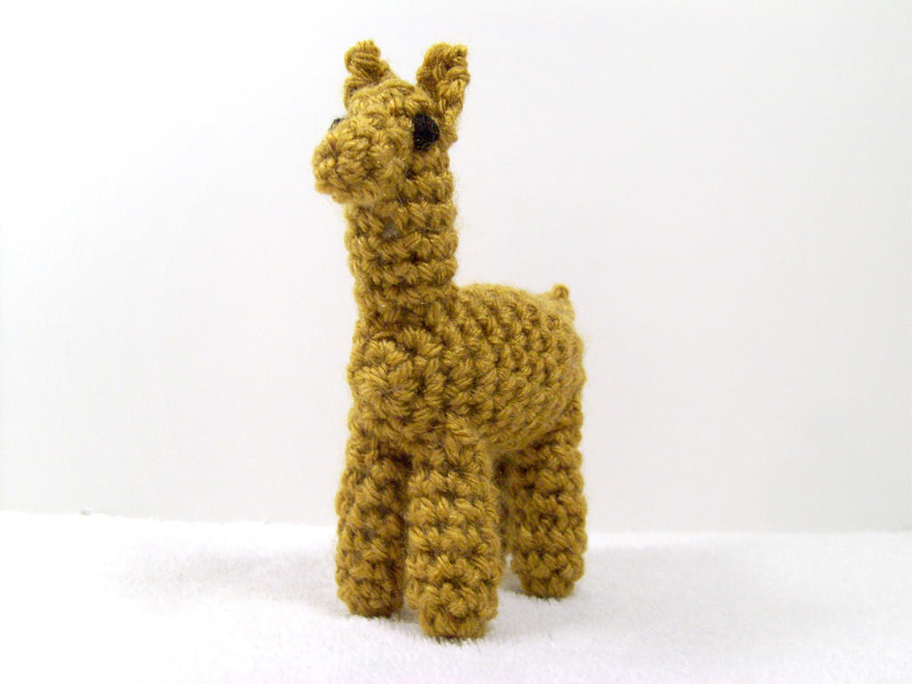 Alpaca Crochet Amigurumi : Crochet llama by britneypringle on deviantart