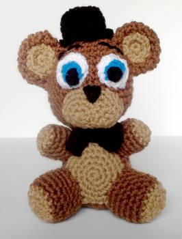Crochet Freddy Fazbear Plushie