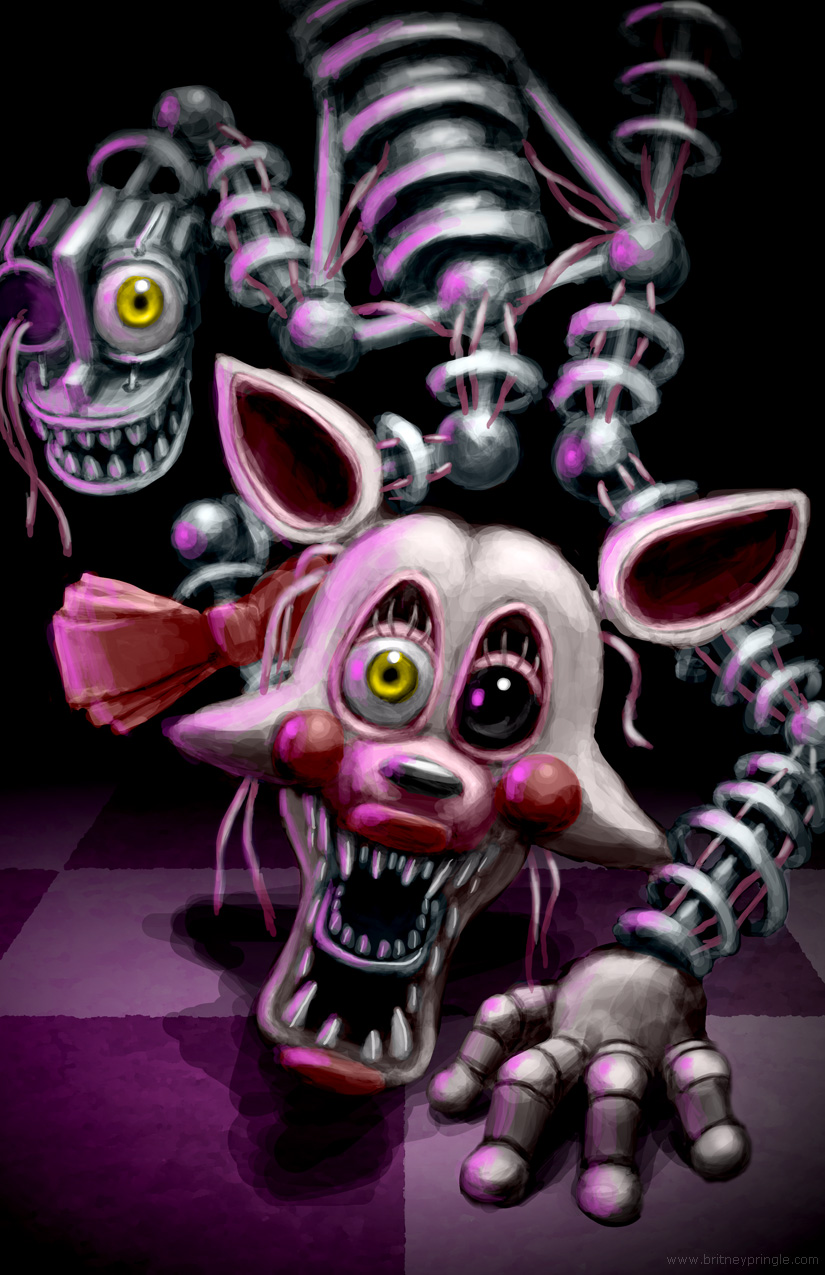 Fnaf mangle by britneypringle on deviantart
