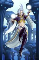 Final Fantasy IX: Kuja by BritneyPringle