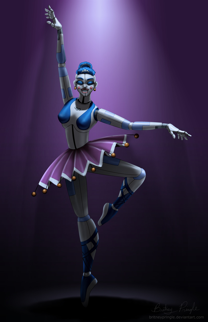 fnaf sl ballora by britneypringle on deviantart