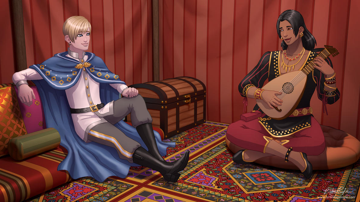The Prince and the Musician by BritneyPringle