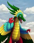 Art Trade: Plumed Serpent