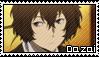 Osamu Dazai Stamp by Baka-No-Rhonnie