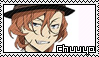 Chuuya Nakahara Stamp by Baka-No-Rhonnie