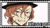 Chuuya Nakahara Stamp by Baka-No-Rhonnie