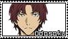 Sakunosuke Oda Stamp by Baka-No-Rhonnie