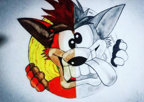Crash bandicoot draw ( MyDraw )