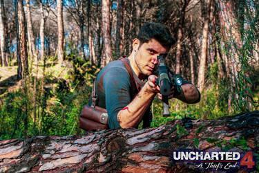 NATHAN DRAKE COSPLAY - UNCHARTED 4