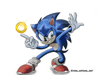 SONIC THE HEDGEHOG DRAWING