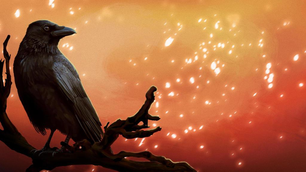 Crow by Rikud0k0