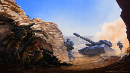 Tank Attack by Rikud0k0