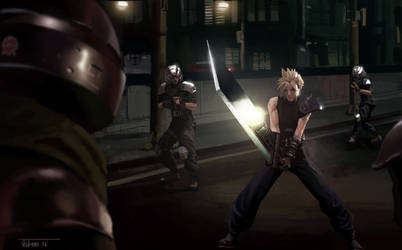 Final Fantasy 7 Study by Rikud0k0