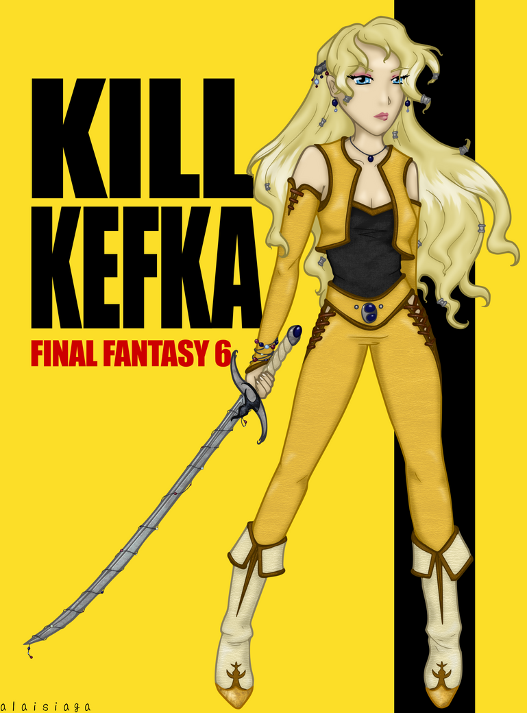 Kill Kefka by alaisiaga