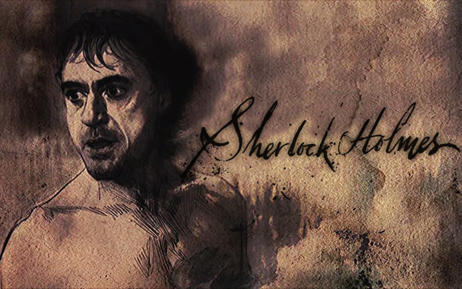 Sherlock Holmes Quotes Wallpaper Sherlock holmes wallpaper 01