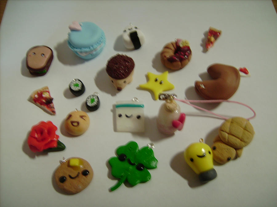 Cute Clay Designs a Few Cute Polymer Clay Charms