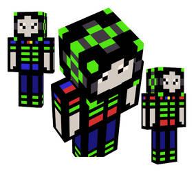 Minecraft Dragojester (ME!) by Writer72