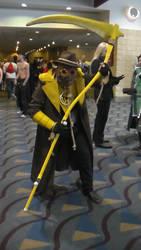 Kamicon S7: Yellow Lantern Scarecrow by Writer72