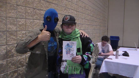 Kamicon S7: Me and Mr. CreepyPasta! by Writer72