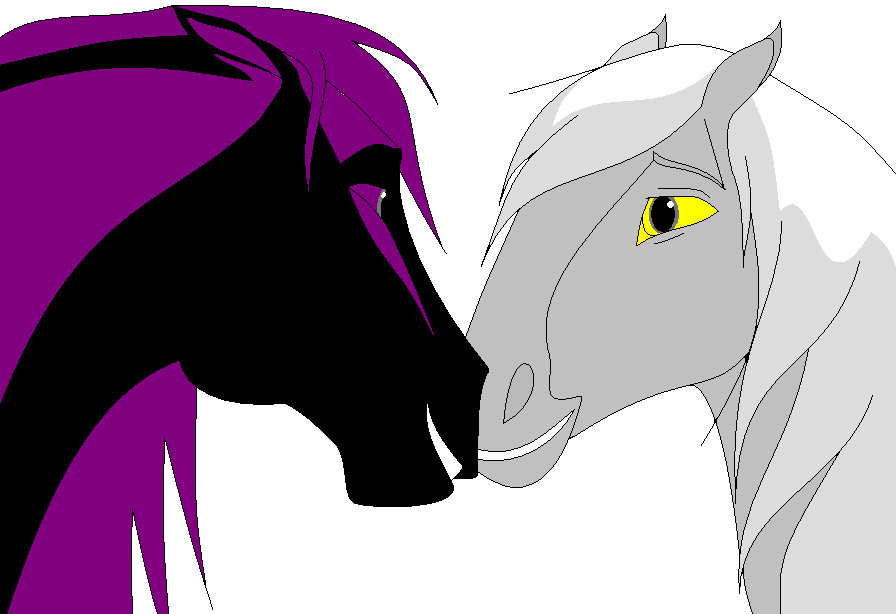 Mego and Talon horses by Natalia-Clark
