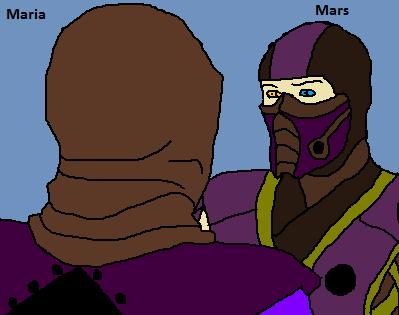 Maria and Mars talk by Natalia-Clark