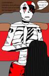 Underfell Niro shirtless nervous encounter