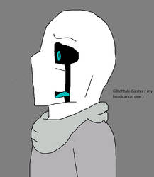 Glitchtale Gaster Trapped in fear