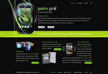 Palm Pre Promotional by EerieLoon