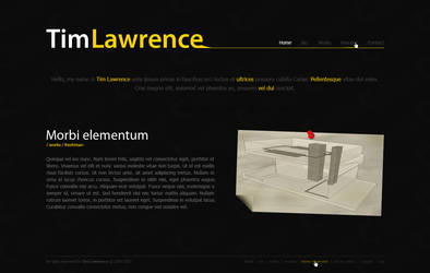 Tim Lawrence Portfolio by EerieLoon