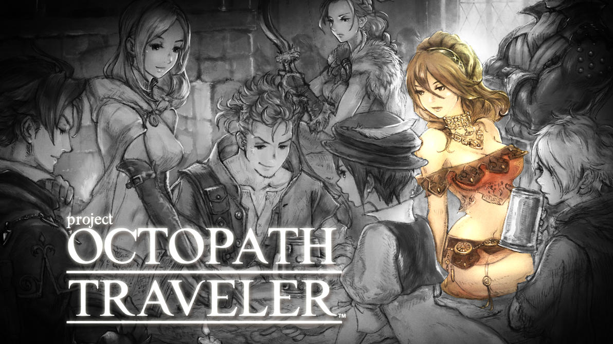Project Octopath Traveler - Primrose Wallpaper 2 by Witxo