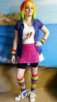 Rainbow Dash Equestria Girls Cosplay
