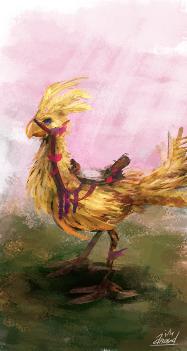 Runaway Pet - Daily Spitpaint #7 by Crown-Wolf