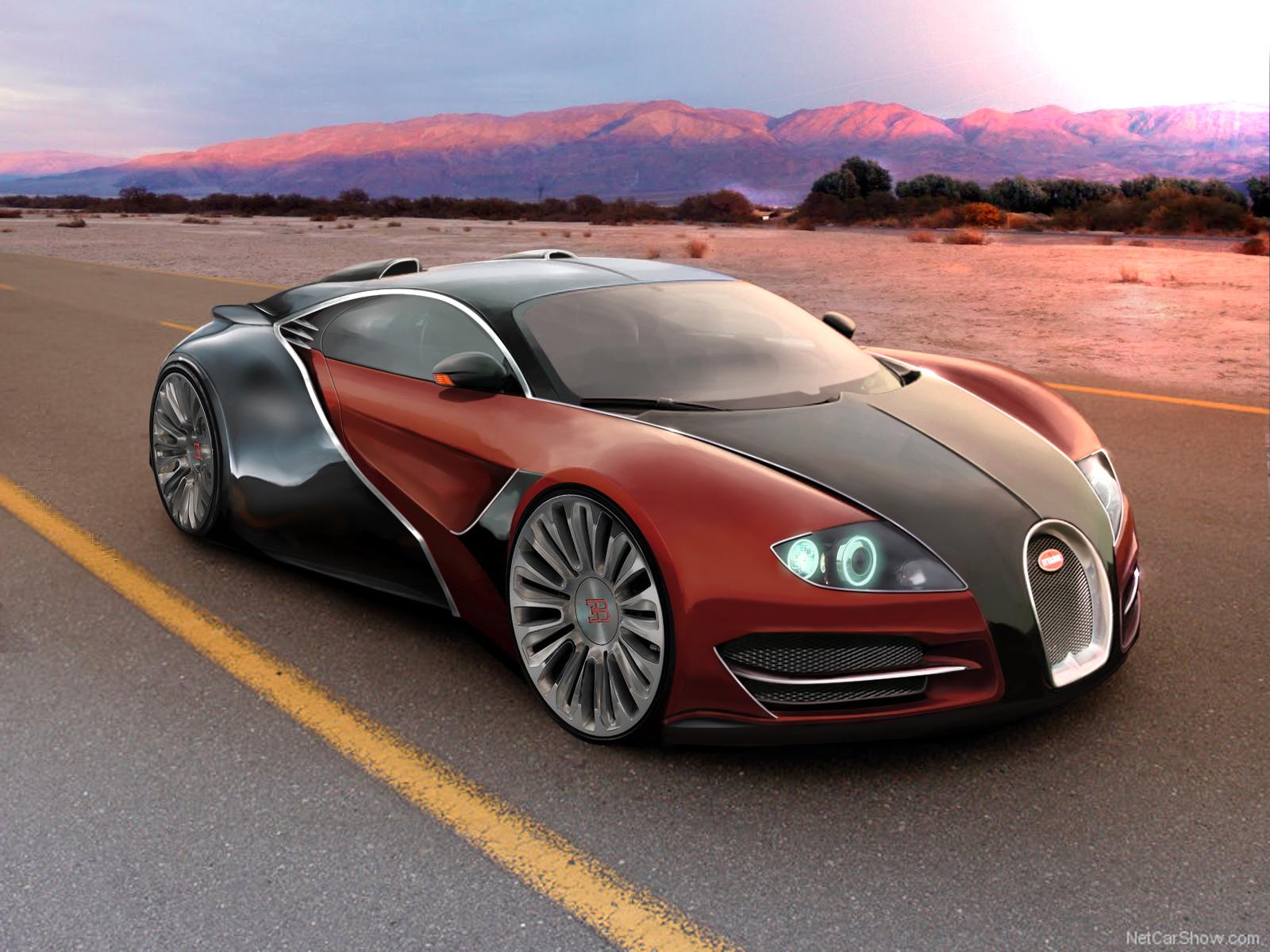 Bugatti EB Concept by REDZ166
