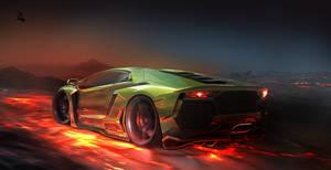 Lamborghini Aventador by REDZ166