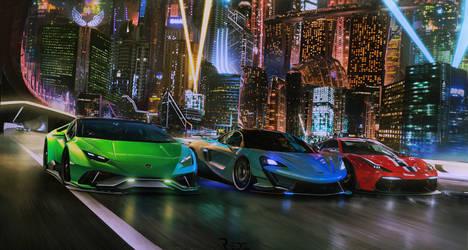 Supercar Showdown 2077 by Redz