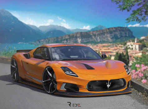 Maserati MC20 Redz Design