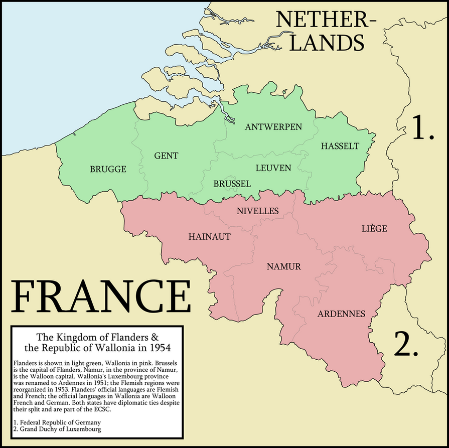 lets split the end of the kingdom of belgium by federalrepublic