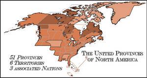 United Provinces of North America by FederalRepublic