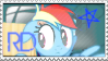 Rainbow Dash- Stamp: 1 by CutiePageant