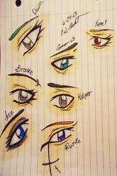 OC eyes by 6-9Changeling